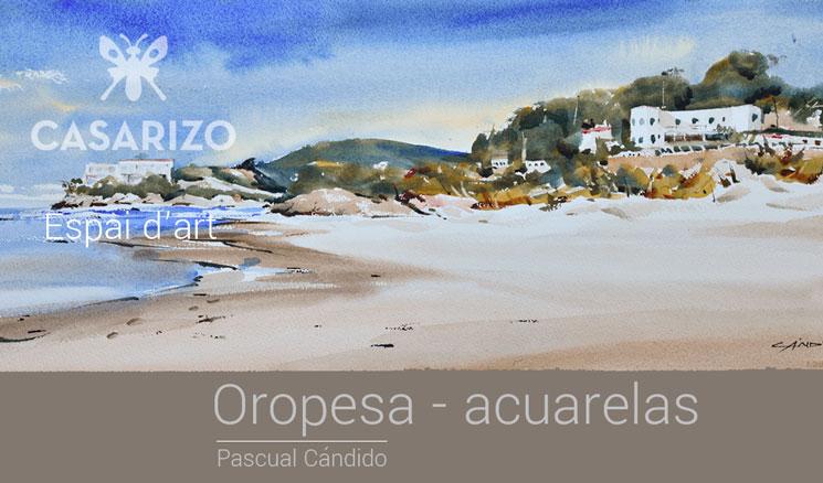 Exposición Pascual Cándido Espai d'art Casa Arizo